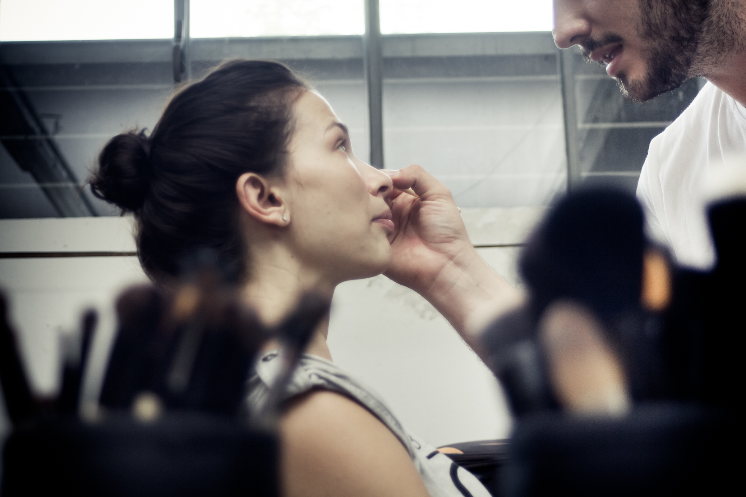 Tricot Chic photoshoot Backstage _ Spring summer 2016 Preview