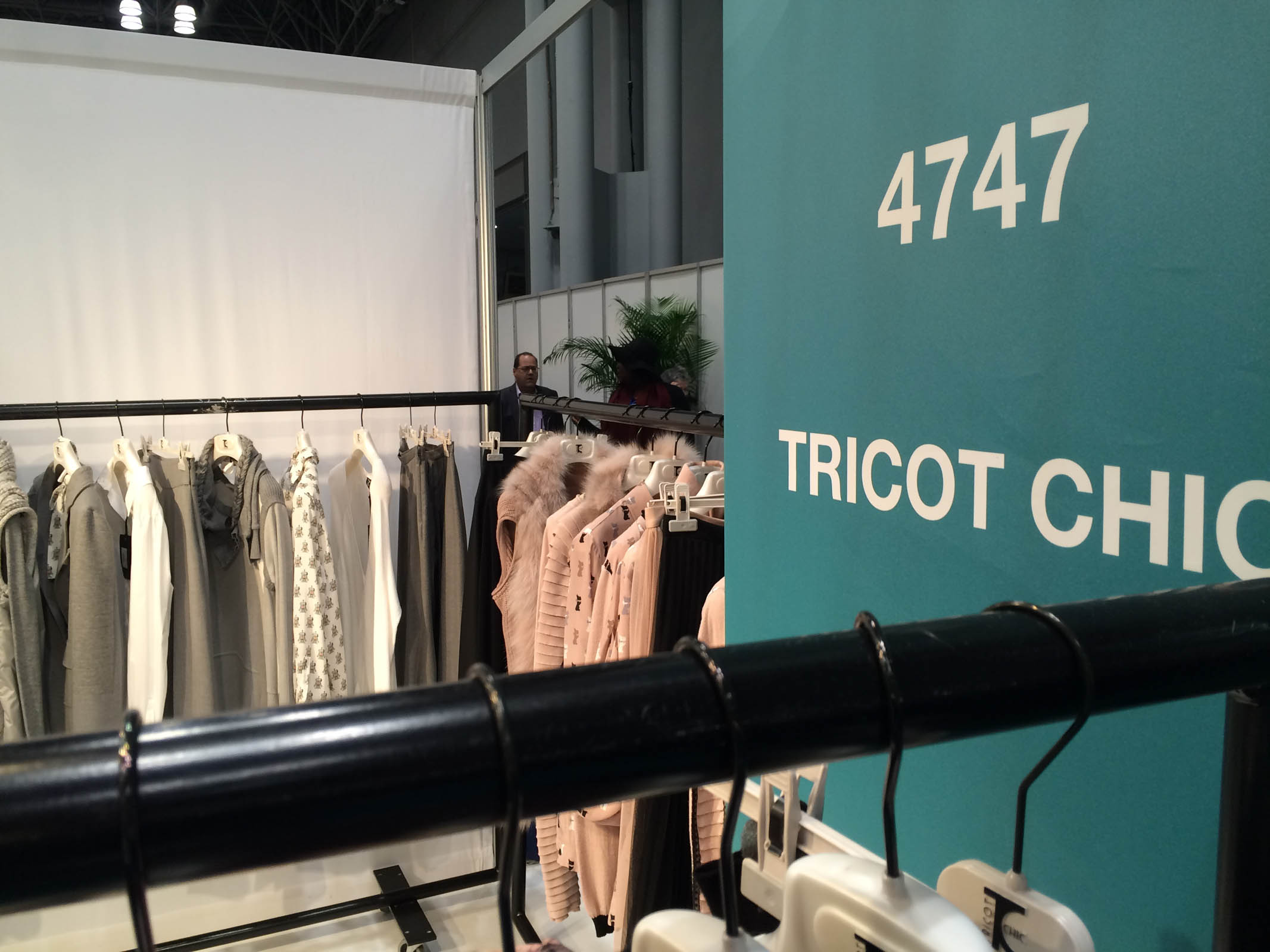 Tricot Chic in New York City #COTERIE #EXHIBITION #NY