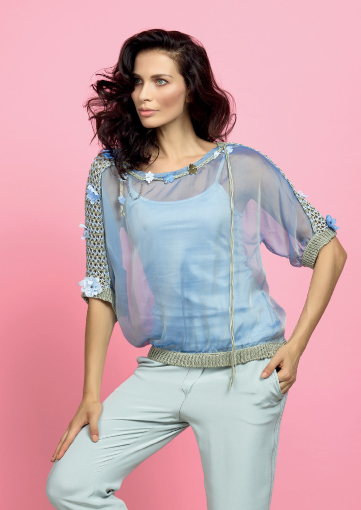 MAGLIA / TOP <strong>D335</strong> <br> PANTALONE / PANTS <strong>D330</strong>