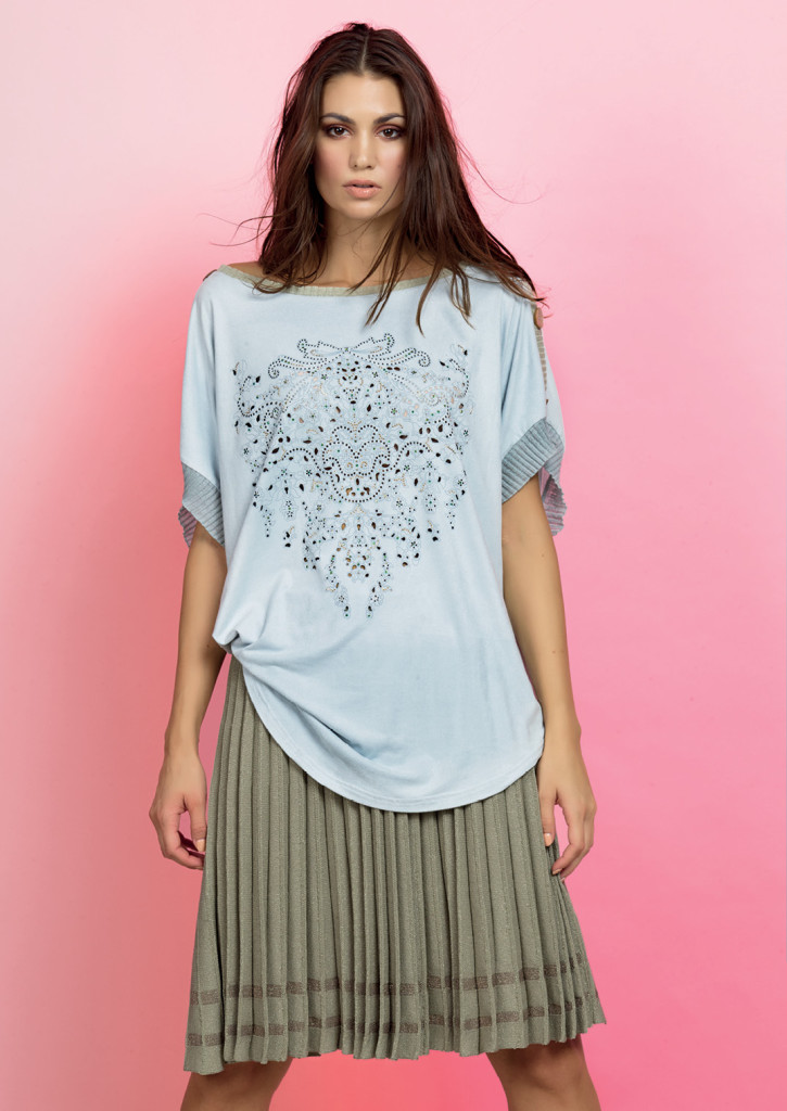 MAGLIA / BLOUSE <strong>D311</strong> <br> GONNA / SKIRT <strong>D327</strong>