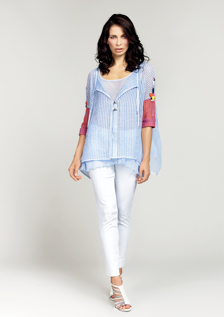MAGLIA / BLOUSE <strong>D423</strong> <br> PANTALONE / PANTS <strong>D280</strong>