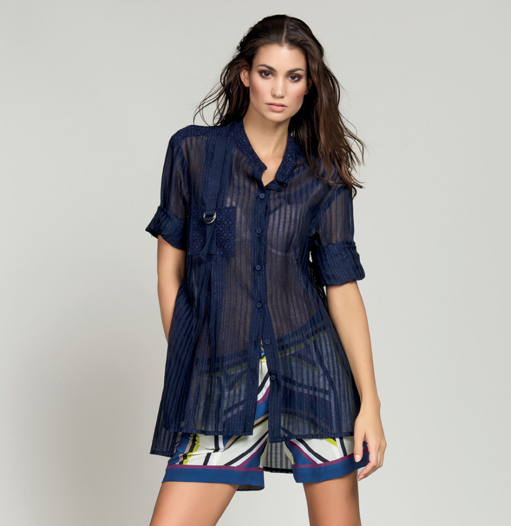 CAMICIA / SHIRT <strong>D120</strong> <br> SHORTS <strong>D118</strong>