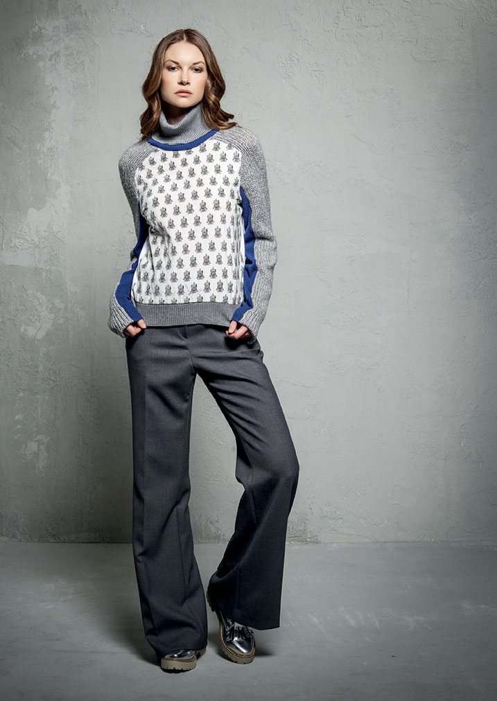 MAGLIA/JUMPER <strong>E308</strong><br> PANTALONE/PANTS <strong>E332</strong>