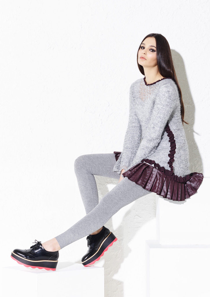 MAGLIA/MAXI_PULL <strong> G112</strong><br> LEGGINGS/LEGGINGS <strong> G339</strong>