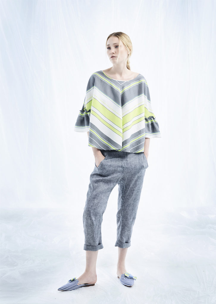 CAMICETTA/BLOUSE <strong>M300</strong><br> PANTALONE/PANTS <strong>M349</strong>