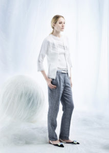 CARDIGAN/CARDIGAN <strong>M335</strong><br> CAMICETTA/TOP <strong>M334</strong><br> CINTURA/BELT <strong>M166</strong><br> PANTALONE/PANTS <strong>M350</strong>
