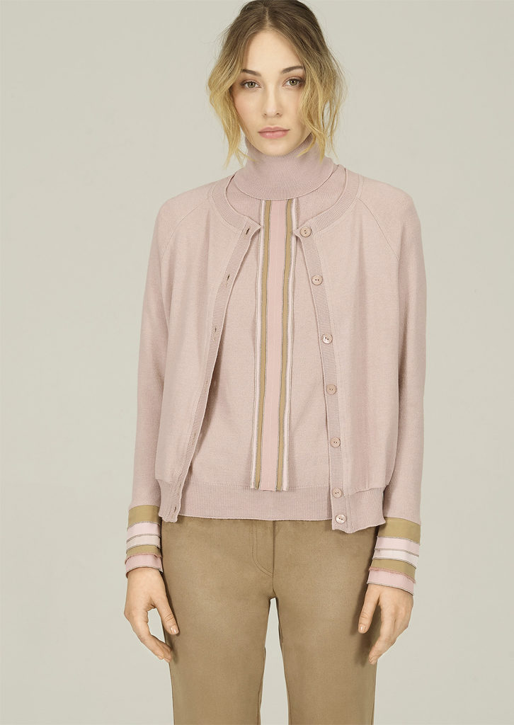 CARDIGAN/CARDIGAN <strong>N305</strong><br> CAMICETTA/SWEATER <strong>N306</strong><br> PANTALONE/PANTS <strong>N131</strong>