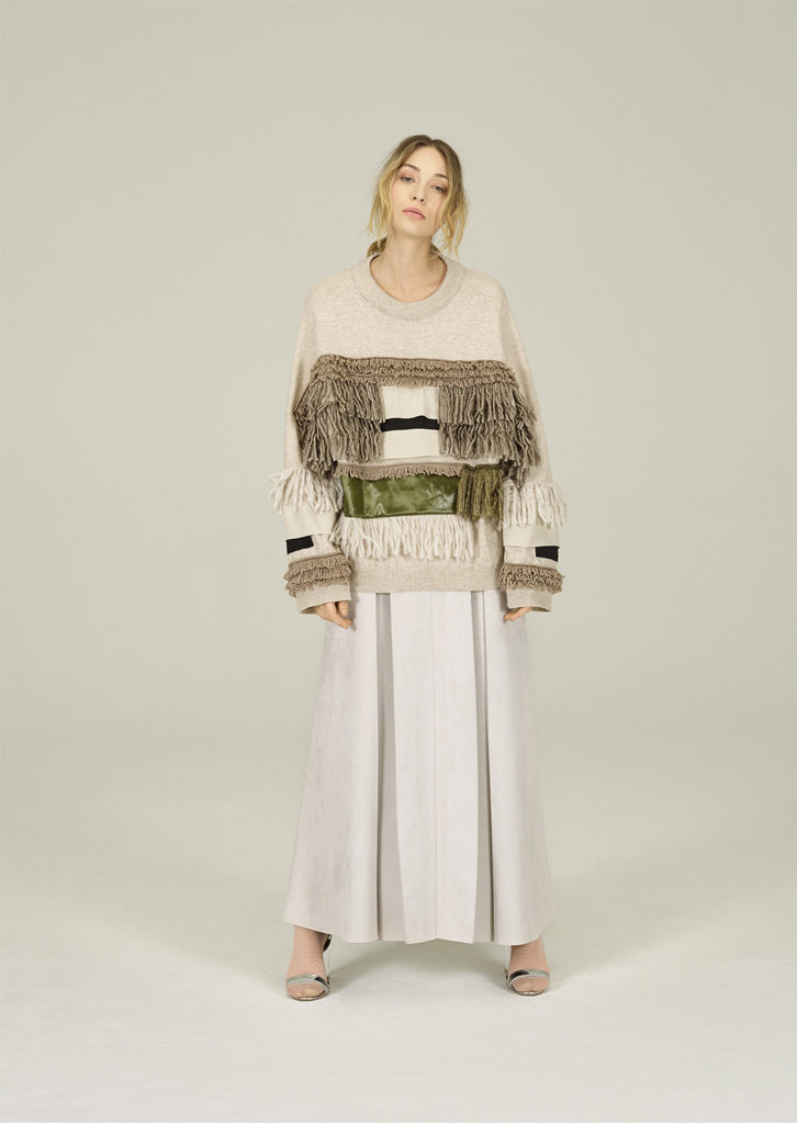 CAMICETTA/SWEATER <strong>N410</strong><br> GONNA/SKIRT <strong>N322</strong>