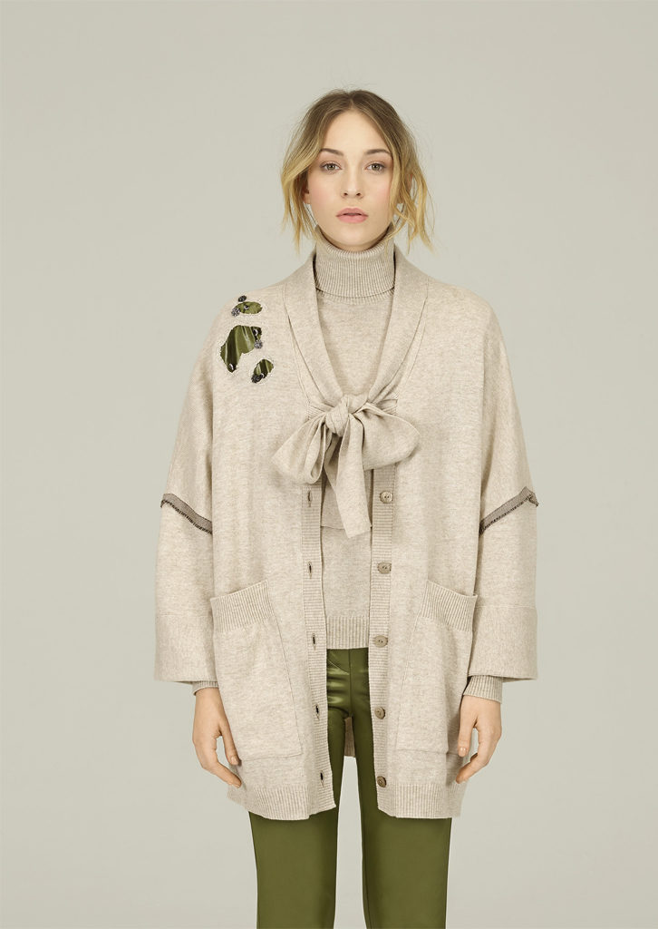 CARDIGAN/CARDIGAN <strong>N412</strong><br> CAMICETTA/SWEATER <strong>N431</strong><br> PANTALONE/PANTS <strong>N407</strong>