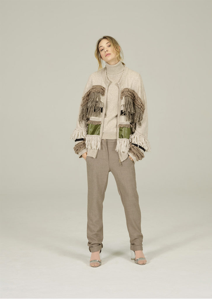 CARDIGAN/CARDIGIAN <strong>N411</strong><br> CAMICETTA/SWEATER <strong>N431</strong><br> PANTALONE/PANTS <strong>N185</strong>