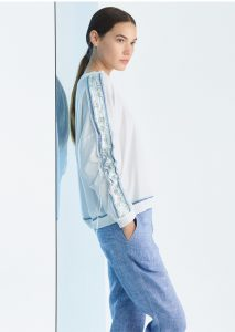 CAMICETTA/SWEATER <strong>P201</strong><br> PANTALONE/PANTS <strong>P221</strong>