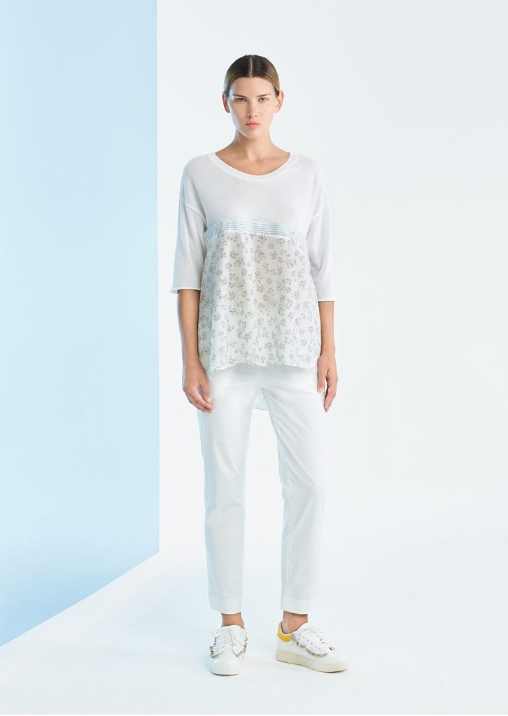 CAMICETTA/SWEATER <strong>P204</strong><br> PANTALONE/PANTS <strong>P407</strong>