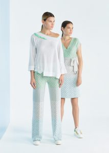 CAMICETTA/SWEATER <strong>P236</strong><br> PANTALONE/PANTS <strong>P233</strong><br> ABITO/DRESS <strong>P234</strong>