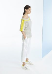 CAMICETTA/SWEATER <strong>P412</strong><br> PANTALONE/PANTS <strong>P137</strong>