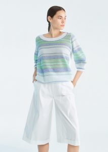CAMICETTA/SWEATER <strong>P217</strong><br> PANTALONE/PANTS <strong>P138</strong>