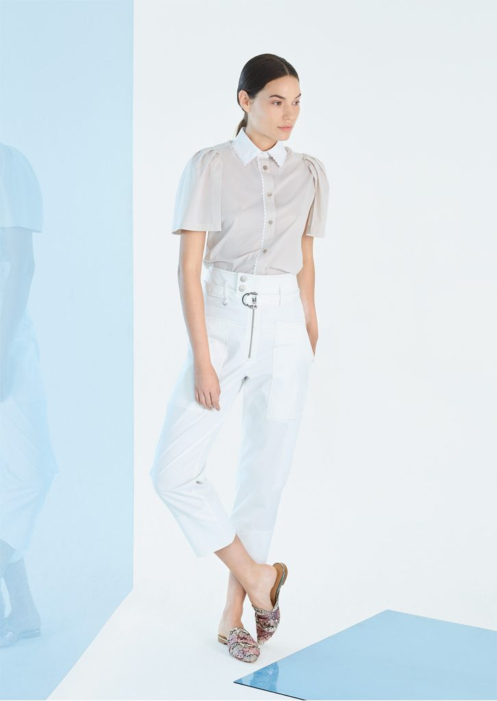 CAMICIA/BLOUSE <strong>P173</strong><br> PANTALONE/PANTS <strong>P137</strong>