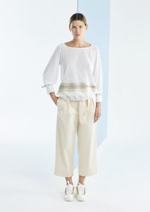 CAMICETTA/SWEATER <strong>P100</strong><br> PANTALONE/PANTS <strong>P136</strong>