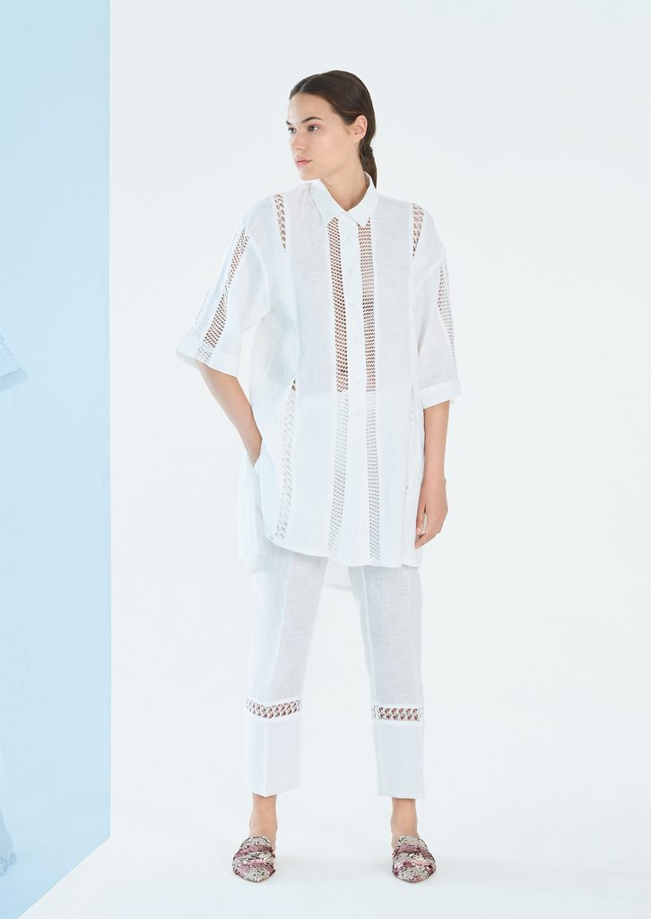 CAMICIA/BLOUSE <strong>P182</strong><br> PANTALONE/PANTS <strong>P183</strong>
