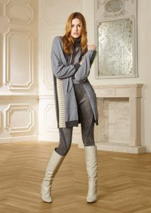 CARDIGAN/CARDIGAN <strong>R219</strong><br> CAMICETTA/SWEATER <strong>R209</strong><br> PANTALONE/PANTS <strong>R215</strong>