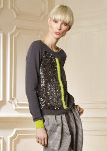 CAMICETTA/SWEATER <strong>R208</strong><br> PANTALONE/PANTS <strong>R510</strong>