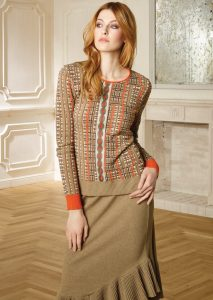 CAMICETTA/SWEATER <strong>R402</strong><br> GONNA/SKIRT <strong>R406</strong>