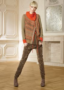 CAMICETTA/SWEATER <strong>R403</strong><br> COLLO/NECK <strong>R404</strong><br> PANTALONE/PANTS <strong>R411L</strong>