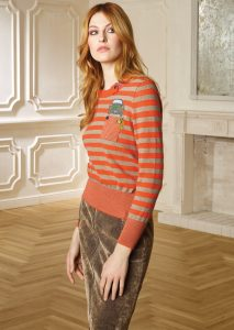 CAMICETTA/SWEATER <strong>R408</strong><br> GONNA/SKIRT <strong>R427</strong>