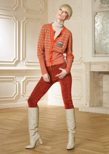CARDIGAN/CARDIGAN <strong>R409</strong><br> PANTALONE/PANTS <strong>R426</strong><br> CAMICETTA/SWEATER <strong>R435</strong>