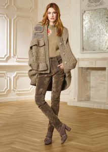 CAPPOTTO/COAT <strong>R414</strong><br> CAMICETTA/SWEATER <strong>R416</strong><br> PANTALONE/PANTS <strong>R411L</strong>