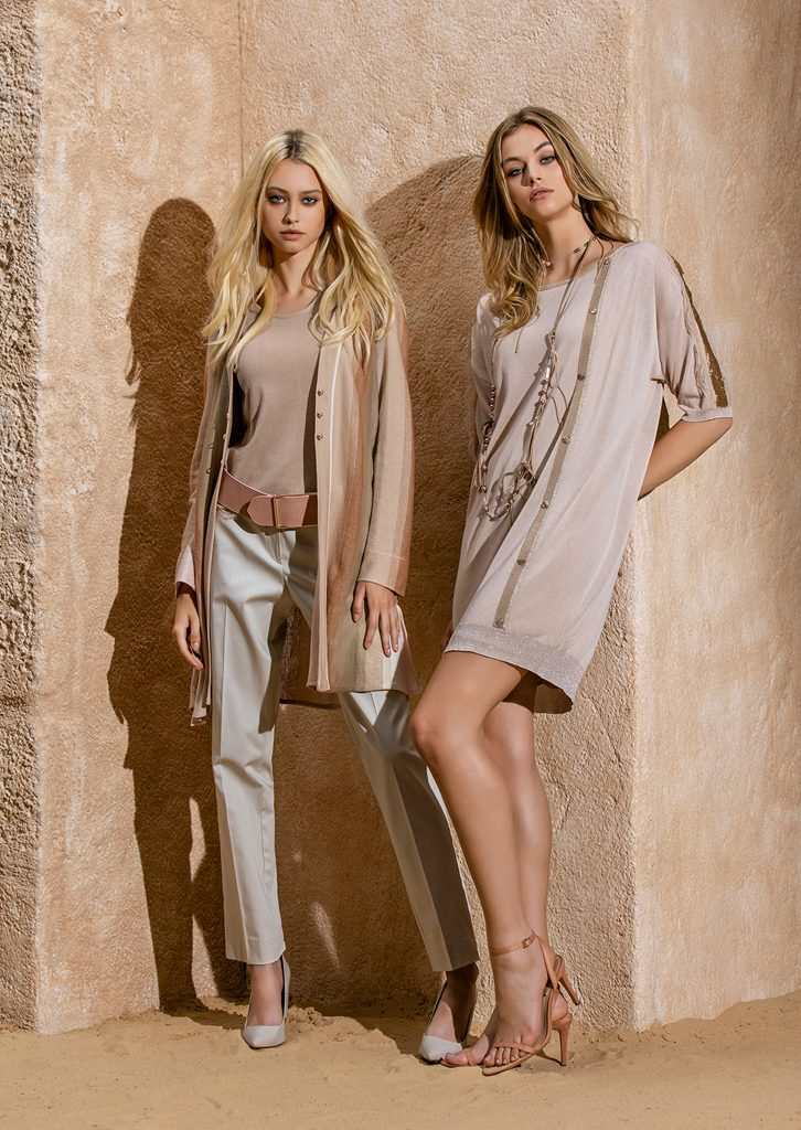 CARDIGAN/CARDIGAN <strong>S1232</strong><br> CANOTTA/TOP <strong>S1218</strong><br> CINTURA/BELT <strong>S1295</strong><br> PANTALONE/PANTS <strong>S1131</strong><br> COLLANA/NECKLACE <strong>S1250</strong><br> ABITO/DRESS <strong>S1253</strong>