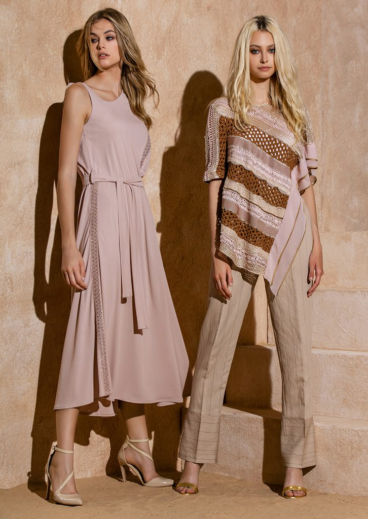 ABITO/DRESS <strong>S1273</strong><br> CAMICETTA/SWEATER <strong>S1211</strong><br> PANTALONE/PANTS <strong>S1246</strong>