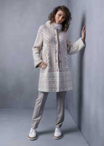 COLLO/COLLAR <strong>T537</strong><br> CAPPOTTO/COAT <strong>T504</strong><br> PANTALONE/PANTS <strong>T542</strong>