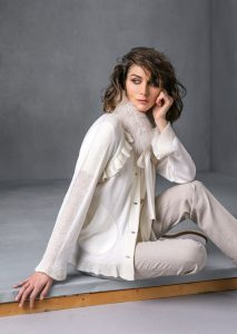 CARDIGAN/CARDIGAN <strong>T531</strong><br> COLLO/COLLAR <strong>T537</strong><br> PANTALONE/PANTS <strong>T542</strong>