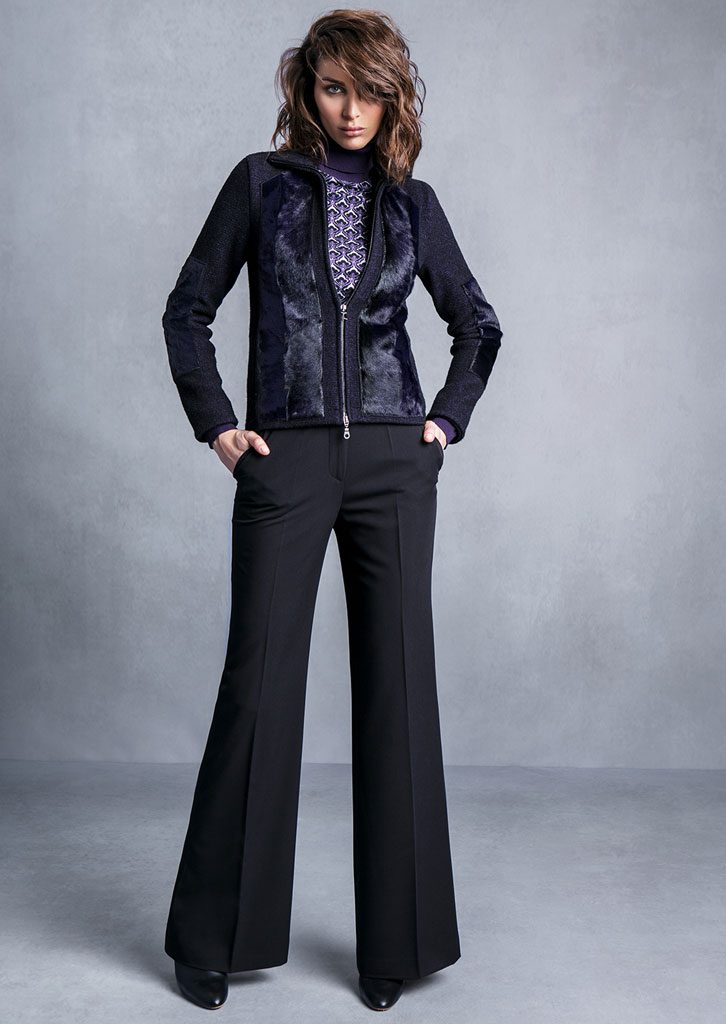 DOLCEVITA/TURTLE_NECK <strong>T700</strong><br> GIUBBETTO/JACKET <strong>T733</strong><br> PANTALONE/PANTS <strong>T649</strong>