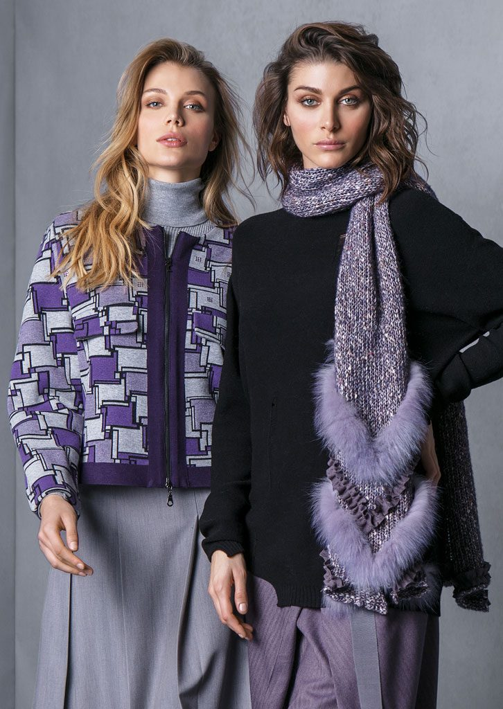 GIACCA/JACKET <strong>T713</strong><br> GONNA/SKIRT <strong>T713</strong><br> DOLCEVITA/TURTLE_NECK <strong>T610</strong><br> MAXIPUL/MAXIPUL <strong>T749</strong><br> SCIARPA/SCARF <strong>T747</strong><br> GONNA/SKIRT <strong>T719</strong>