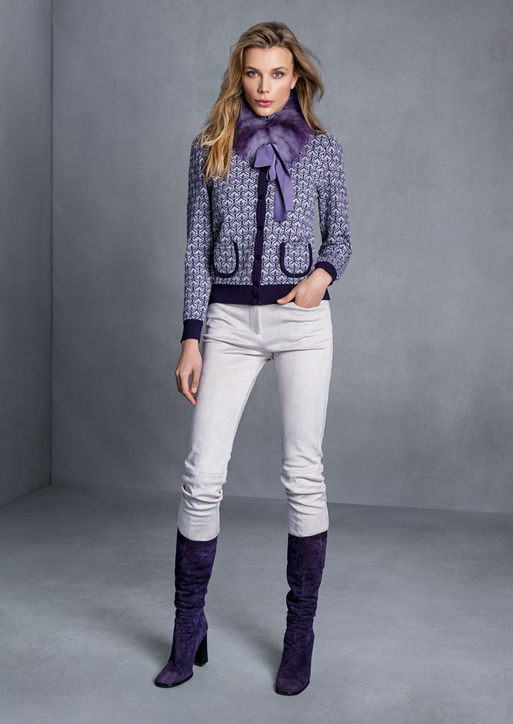 CARDIGAN/CARDIGAN <strong>T701</strong><br> COLLO/COLLAR <strong>T843</strong><br> PANTALONE/PANTS <strong>T554</strong>