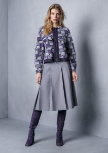 GIACCA/JACKET <strong>T723</strong><br> GONNA/SKIRT <strong>T713</strong>