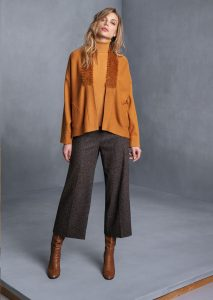 DOLCEVITA/TURTLE_NECK <strong>T608</strong><br> CARDIGAN/CARDIGAN <strong>T613</strong><br> PANTALONE/PANTS <strong>T633</strong>