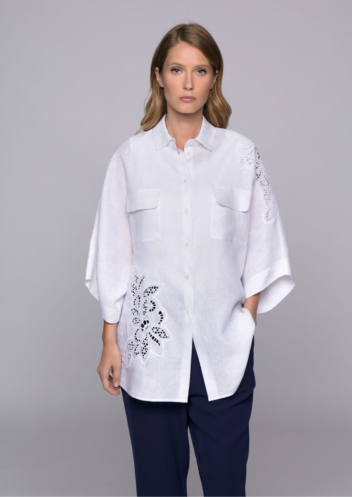 CAMICIA/BLOUSE <strong>U544</strong><br> CANOTTA/TOP <strong>U821</strong><br> PANTALONE/PANTS <strong>U827</strong>
