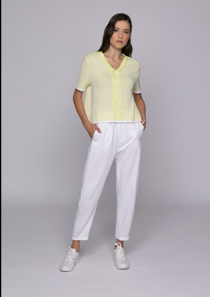 CAMICETTA/BLOUSE <strong>U821</strong><br> PANTALONE/PANTS <strong>U827</strong>