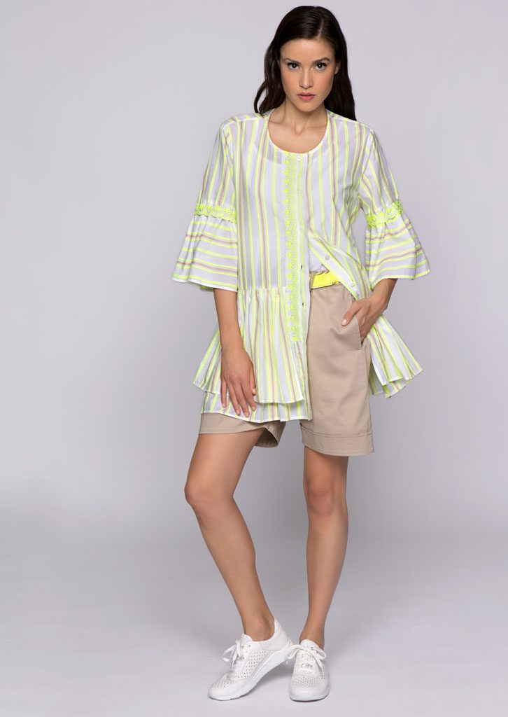 CAMICIA/BLOUSE <strong>U544</strong><br> TOP/TOP <strong>U821</strong><br> BERMUDA/SHORTS <strong>U827</strong>