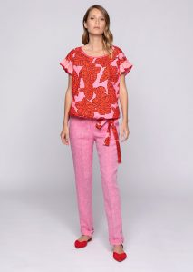 CAMICETTA/BLOUSE <strong>U804</strong><br> PANTALONE/PANTS <strong>U836</strong><br> CINTURA/BELT <strong>U805</strong>