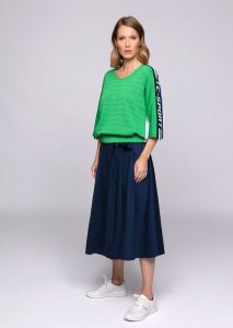 MAGLIA/SWEATER <strong>U707</strong><br> GONNA/SKIRT <strong>U731</strong>