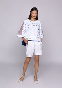 MAGLIA/SWEATER <strong>U709</strong><br> BERMUDA/SHORTS <strong>U535</strong>