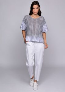 CAMICETTA/BLOUSE <strong>U612</strong><br> PANTALONE/PANTS <strong>U538</strong>