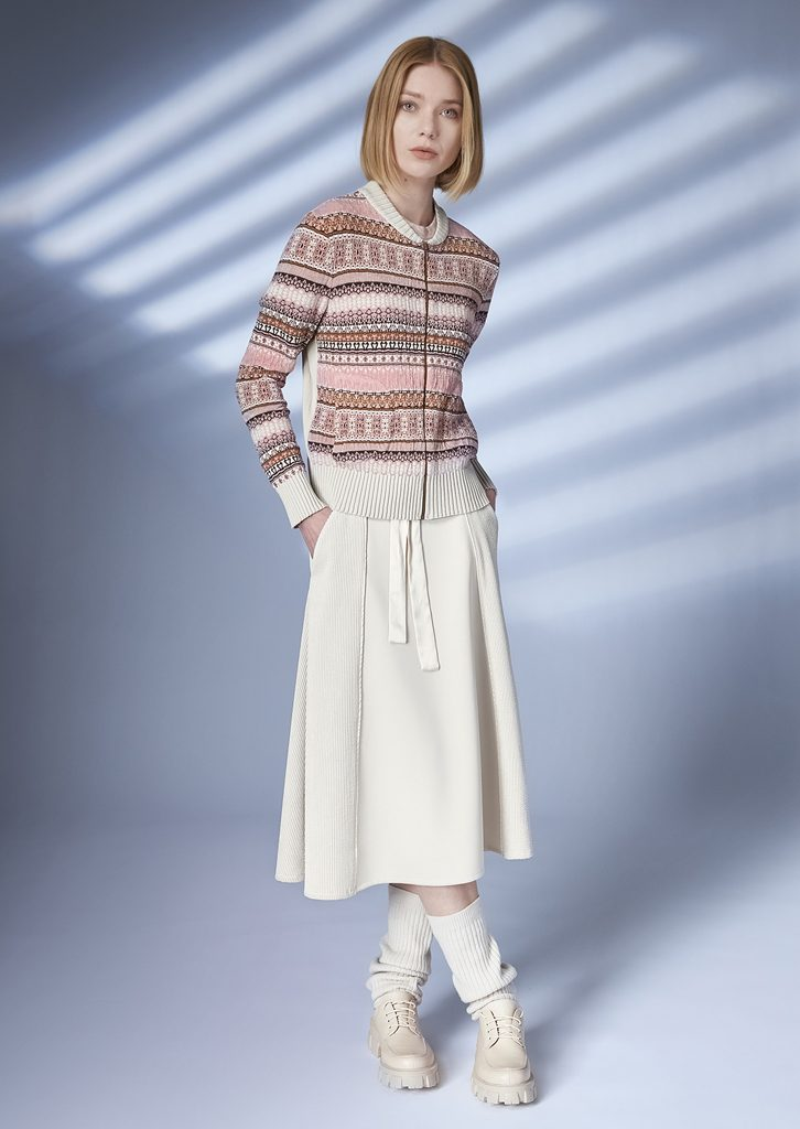CARDIGAN/CARDIGAN <strong>Z317</strong><br> SKIRT/SKIRT <strong>Z243</strong>