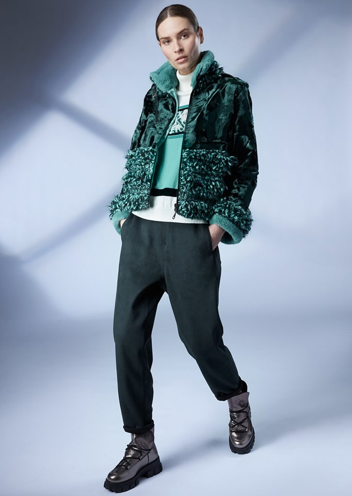 JACKET/JACKET <strong>Z119</strong><br> SWEATER/SWEATER <strong>Z100</strong><br> PANTS/PANTS <strong>Z217</strong>